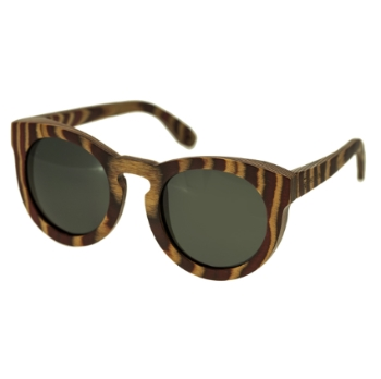 Spectrum Wood Dorian Sunglasses